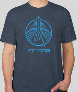 Next Question Logo Shirt- Blue