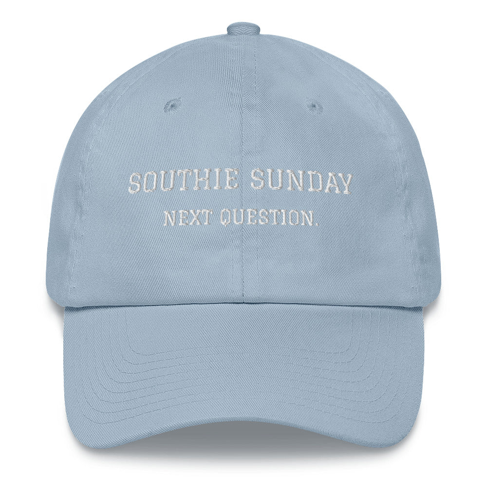 Next Question- Dad hat