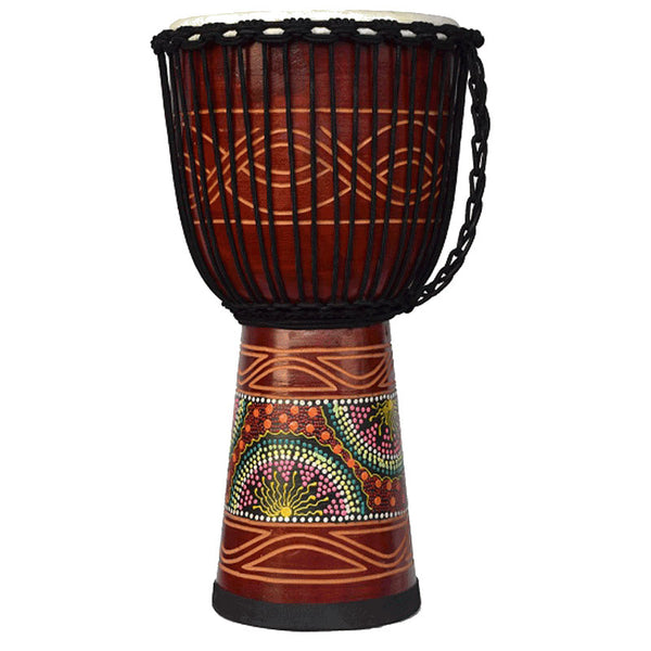 DJEMBE SERIES ECKO INDIE-65CM-DESIGN CANDY
