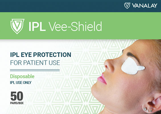 IPL Vee-Shield Disposable Patient Eye Protection - Box of 50 Pair