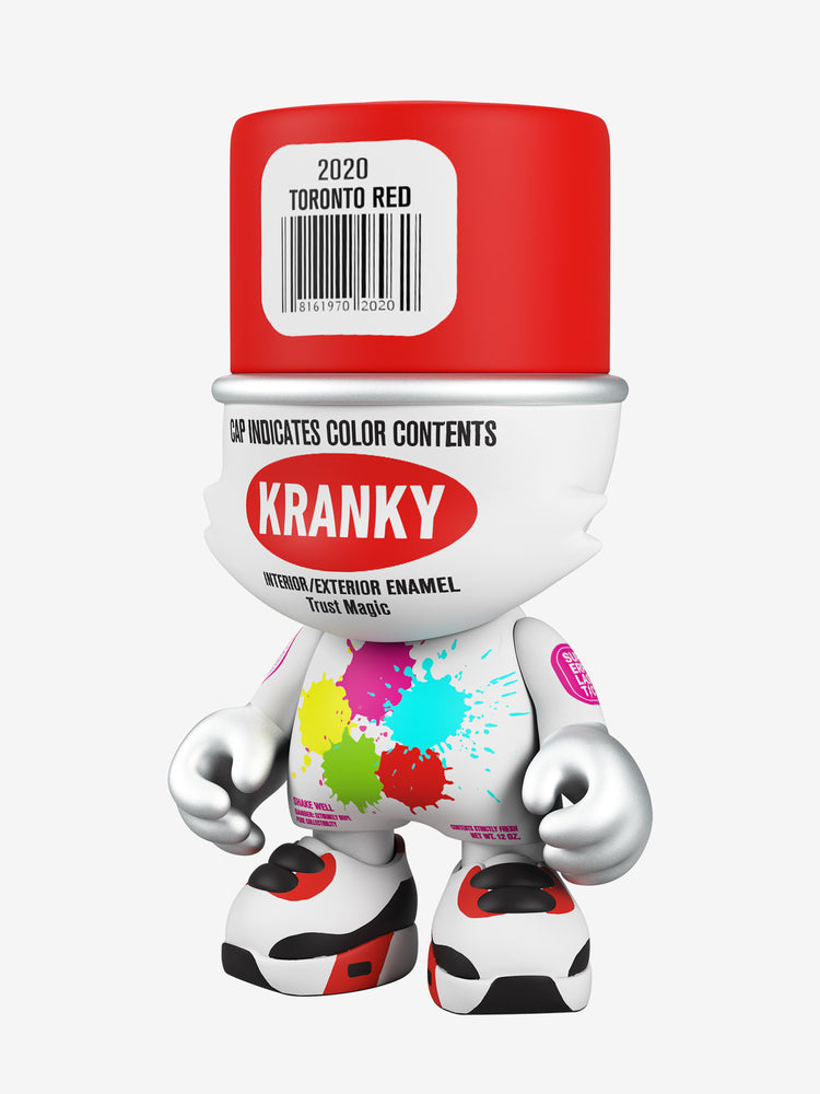 "Toronto Red SuperKranky 8"" by Sket One"
