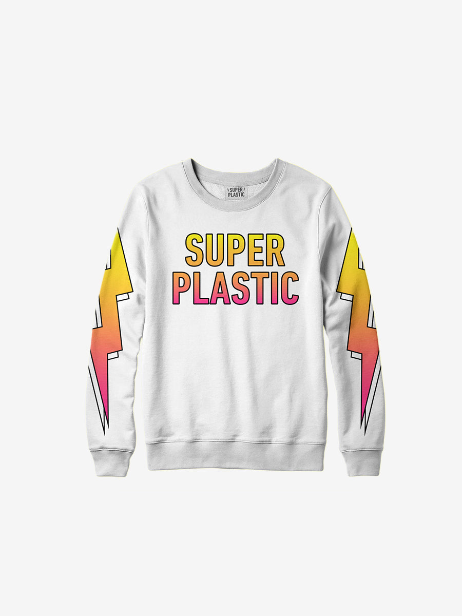 Superplastic Electric Rainbow Sweatshirt - Unisex