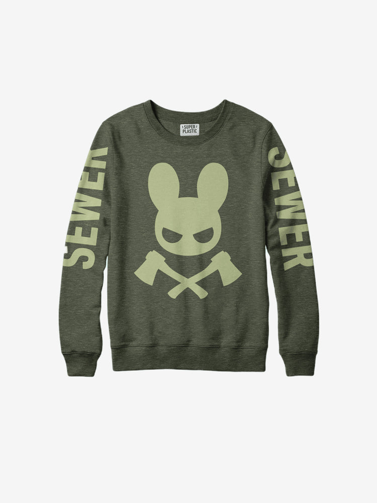 Guggimon Fashion Sewer Crewneck Sweat - Unisex