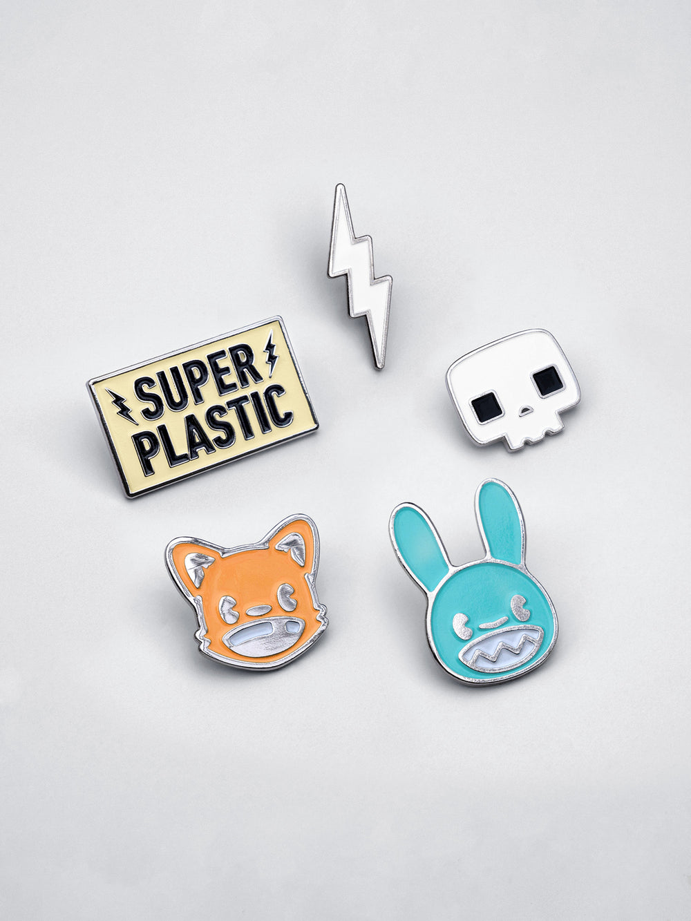 Superplastic Enamel Pins