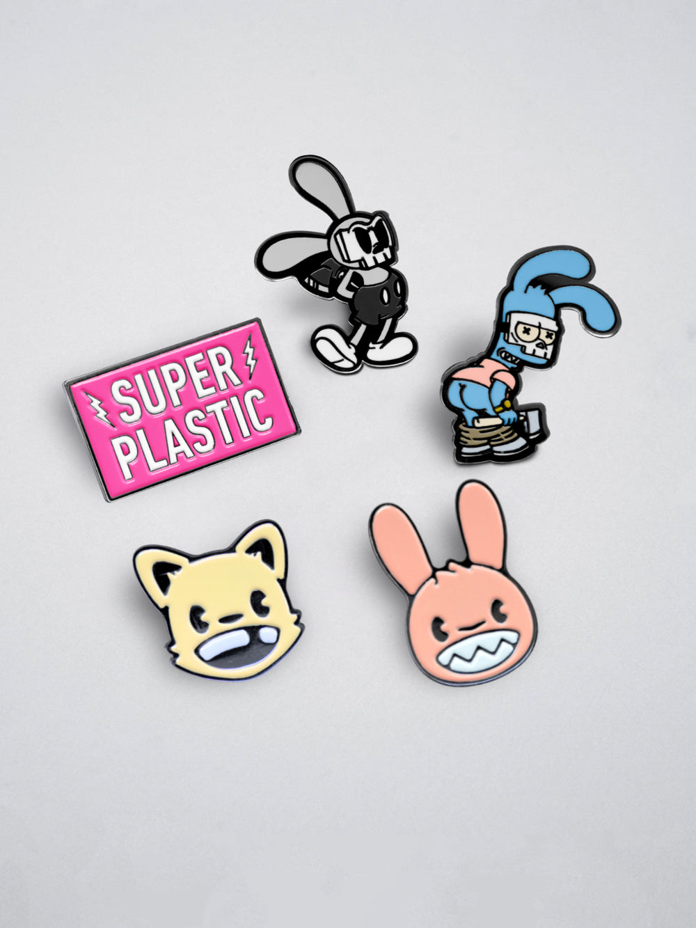 Superplastic Summer Enamel Pins