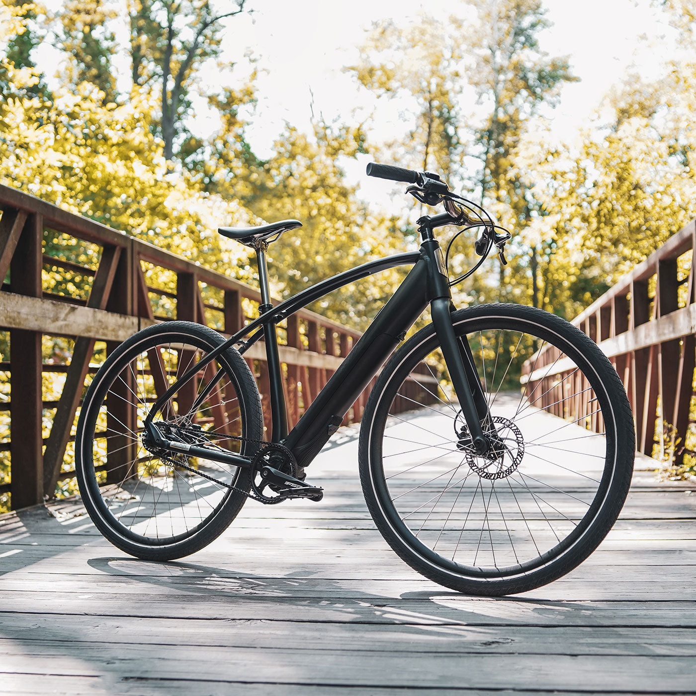 The Budnitz Bicycles Model E electric bicycle