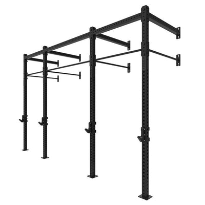 1RM Double Wall Mounted Rig - Braced