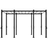 1RM Double Free Standing Rig, Wide with Monkey Bars