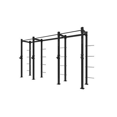 1RM Double Compact Single Free Standing Rig with Storage