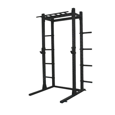 PRE-ORDER – Expected Late June | 1RM Commercial Squat Rack with Multi-Grip Chin and Storage – 2.5m