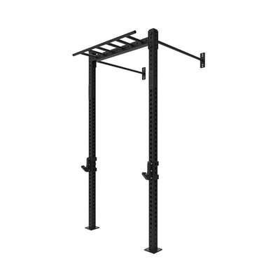 1RM Single Wall Mounted Rig with Multi-grip Chin