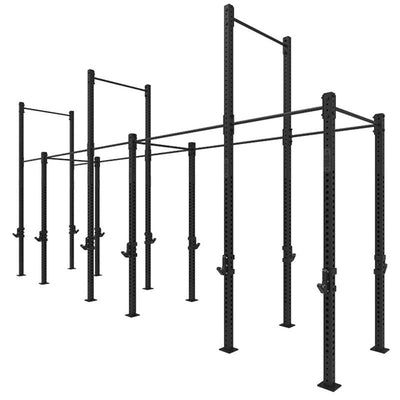 1RM Triple Free Standing Rig with High Low