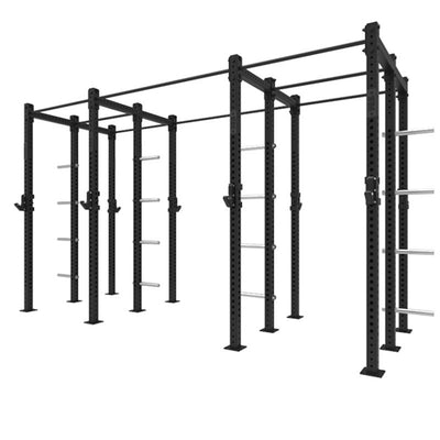 1RM Compact Double Free Standing Rig with Storage