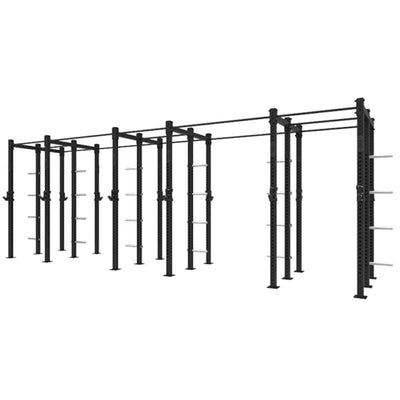 1RM Compact Triple Free Standing Rig with Storage