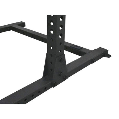 1RM Commercial Squat Rack with Single Chin and Storage – 2.8m