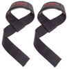 Harbinger Padded Cotton Lifting Straps BLACK 21 inch