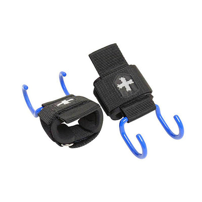 Harbinger Lifting Hooks - Black/Blue
