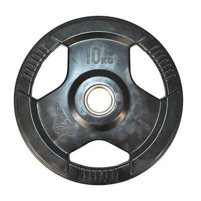 10kg Olympic Rubber Coated Weight Plate (Single)