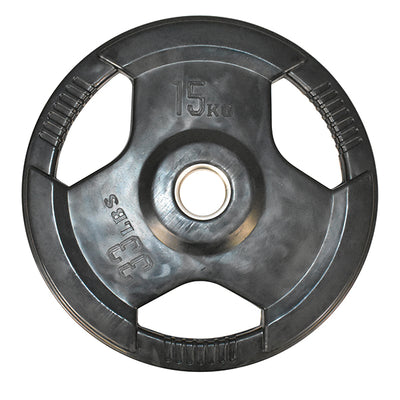 15kg Olympic Rubber Coated Weight Plate (Single)