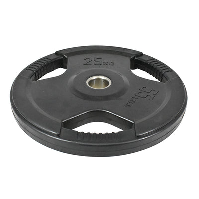 25kg Olympic Rubber Coated Weight Plate (Single)