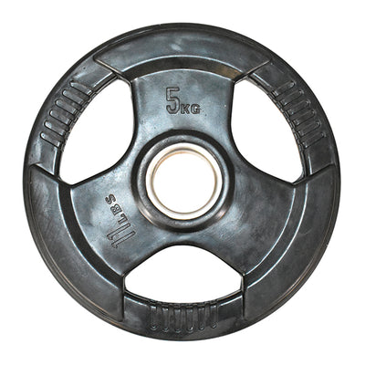5kg Olympic Rubber Coated Weight Plate (Single)