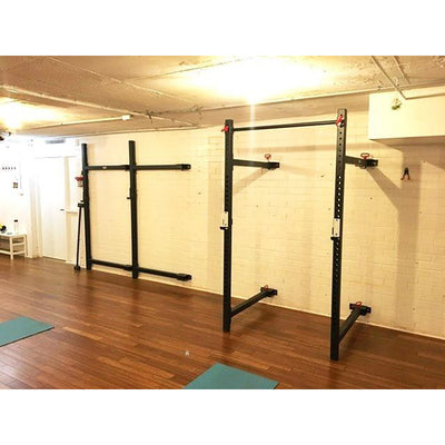 Fold Back Wall Mounted Rack