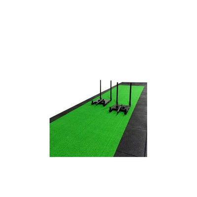 Green Sled Track - Double Width (10m x 2m x 15mm)