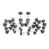 PRE-ORDER – Expected Early August | 1-10kg Rubber Hex Dumbbell Set