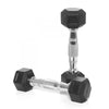 1kg Rubber Hex Dumbbell PAIR
