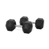 PRE-ORDER – Expected Early August | 25kg Rubber Hex Dumbbell PAIR
