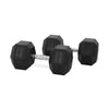 32.5kg Rubber Hex Dumbbell PAIR