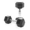 6kg Rubber Hex Dumbbell PAIR