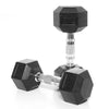 7kg Rubber Hex Dumbbell PAIR
