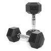 PRE-ORDER – Expected Mid August | 9kg Rubber Hex Dumbbell PAIR