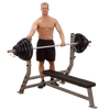 Body Solid Commercial Flat Olympic Bench SFB349