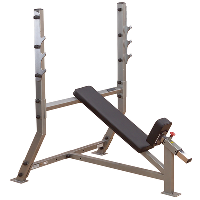 Body Solid Commercial Incline Olympic Bench SIB359G
