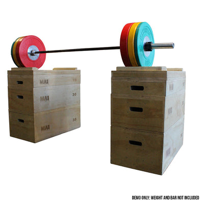MA1 Timber Jerk Blocks