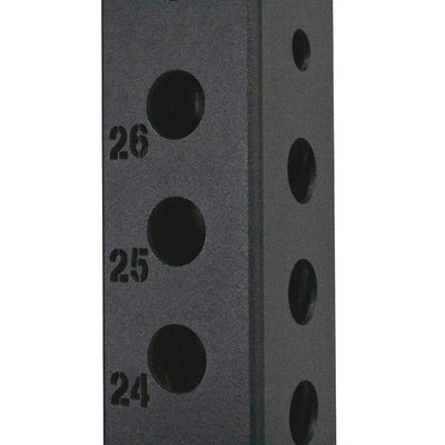 1RM Commercial Power Rack - Compact Double Sided with Storage