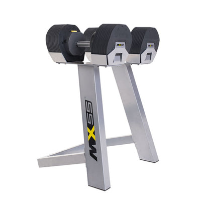 MX55 Select Adjustable Dumbbell Set with Stand