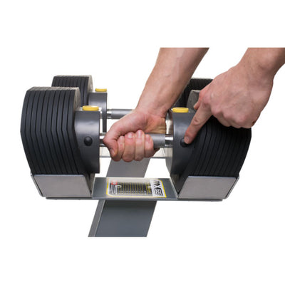 MX55 Select Adjustable Dumbbell Set & Impulse Flat Bench