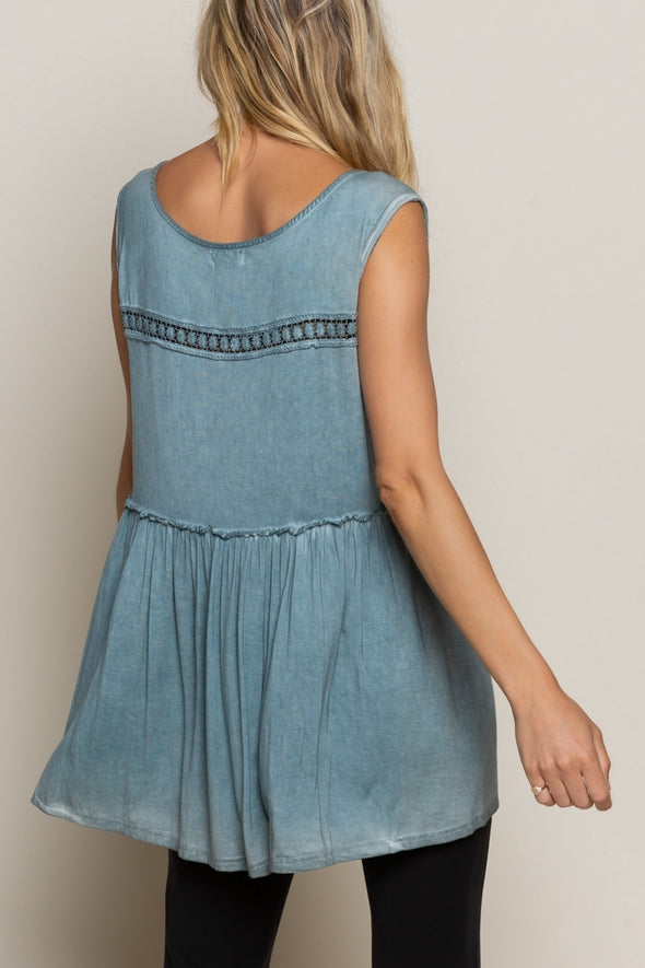 Super Soft Blue Sage Tunic