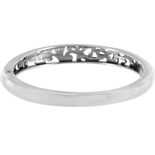Elora Hinged Bangle