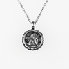 Mariana Guardian Angel Necklace January Birthstone (G12)