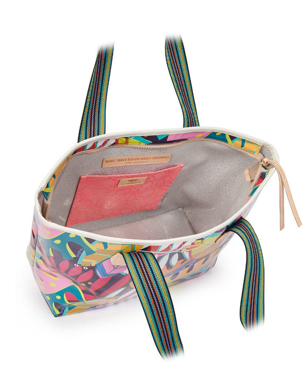 Consuela Zipper Maya Tropical Tote