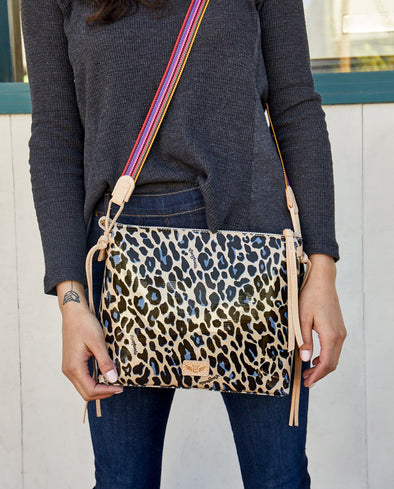 Consuela Downtown Crossbody Blue Jag