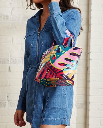 Grab-n-Go Consuela Mini Tote Maya Tropical