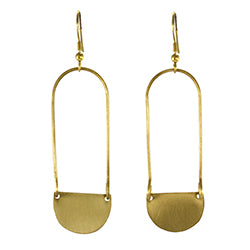 Aliya Oval Earrings
