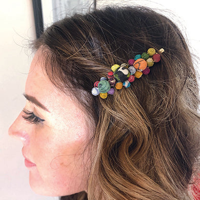 Sari Chic Cluster Hair Pin