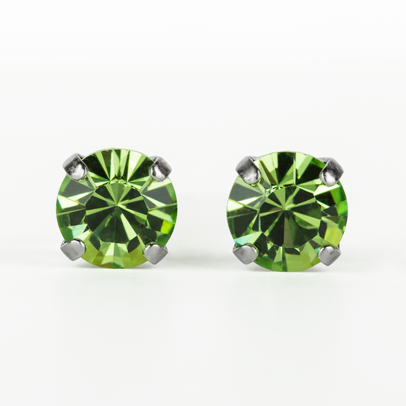 Mariana Stud Earrings (SE82) PERIDOT