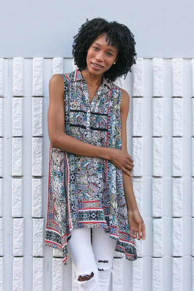 Vee Tunic Dress
